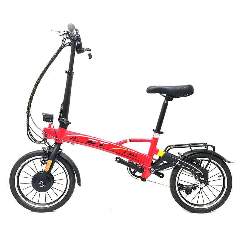 TDR13Z-F 16 inch CE/TUV Certified portable folding ebike for adult